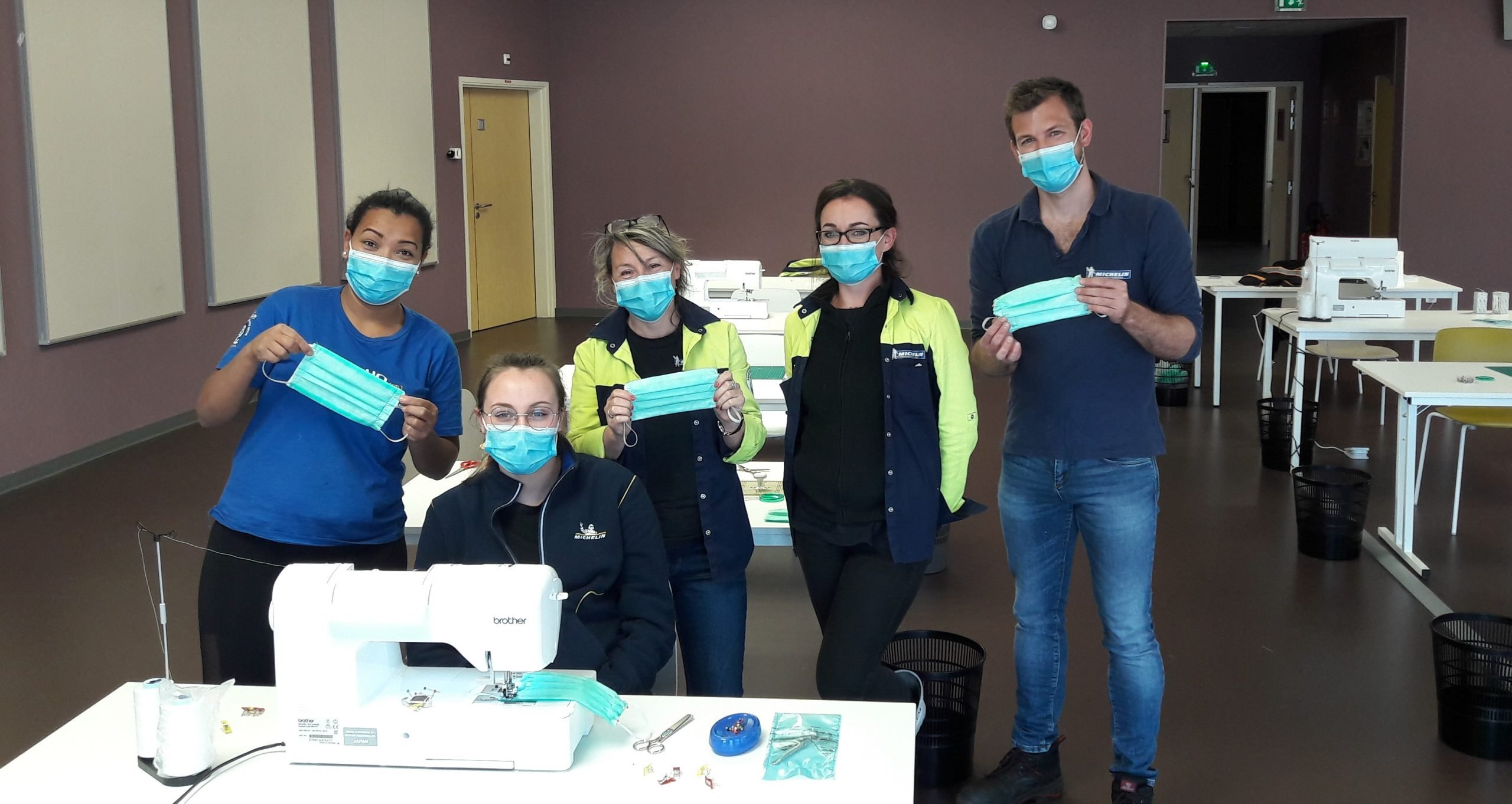 В Michelin выпустили медицинскую маску, которую можно использовать до 100 раз