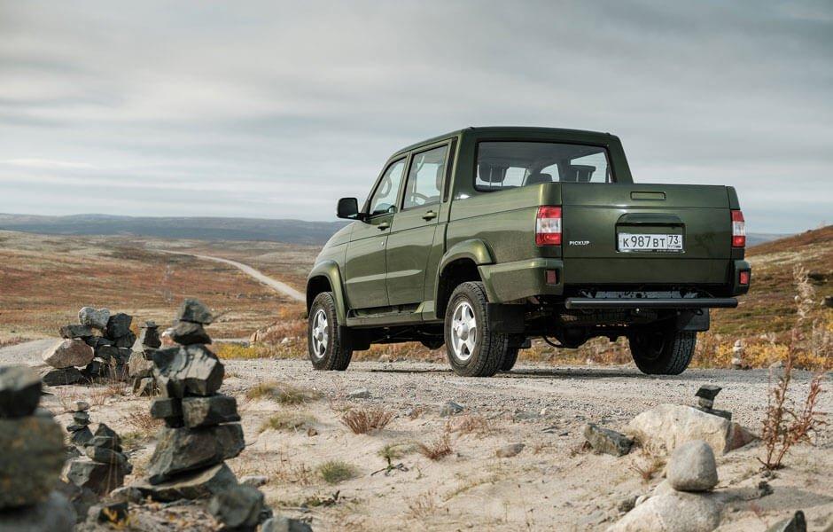 Стартовали продажи пикапа УАЗ «Патриот» с «автоматом»