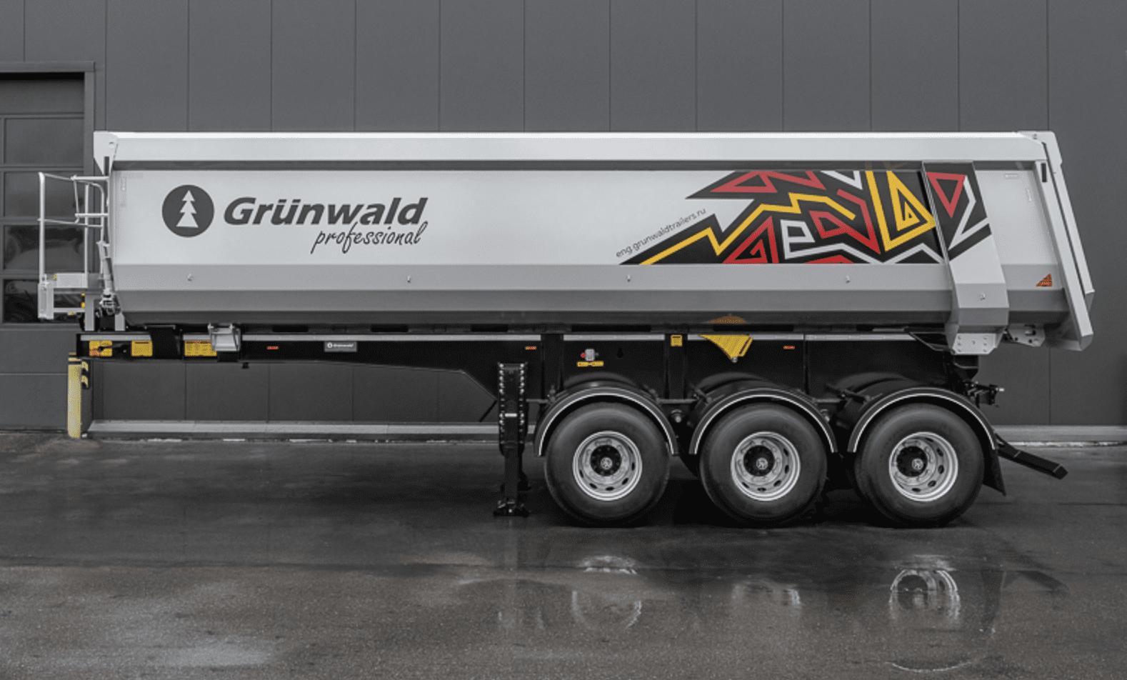 Полуприцепы Grunwald будут работать в Африке