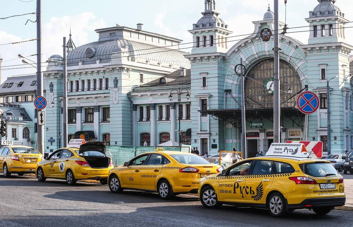 К правительству за помощью обратились таксисты