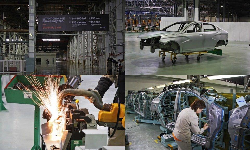 АвтоВАЗ приостанавливает производство в Ижевске