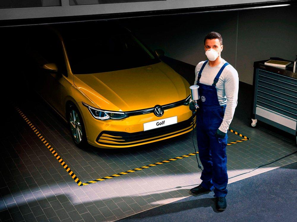 Volkswagen запускает в России услугу бесконтактного сервиса
