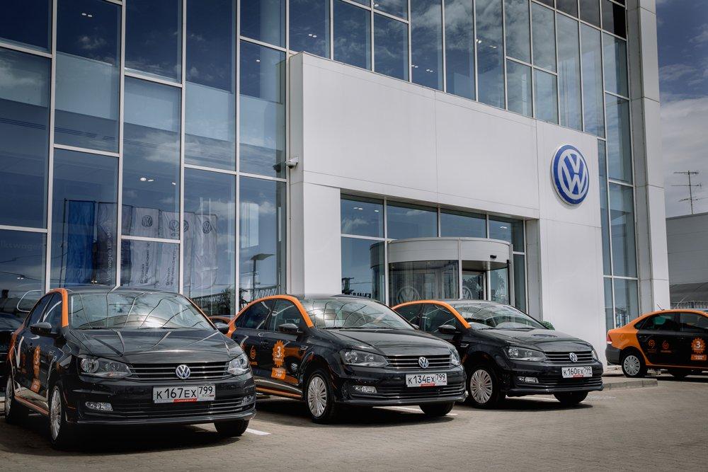 Каршеринговые VW Polo будут доставлять лекарства и еду