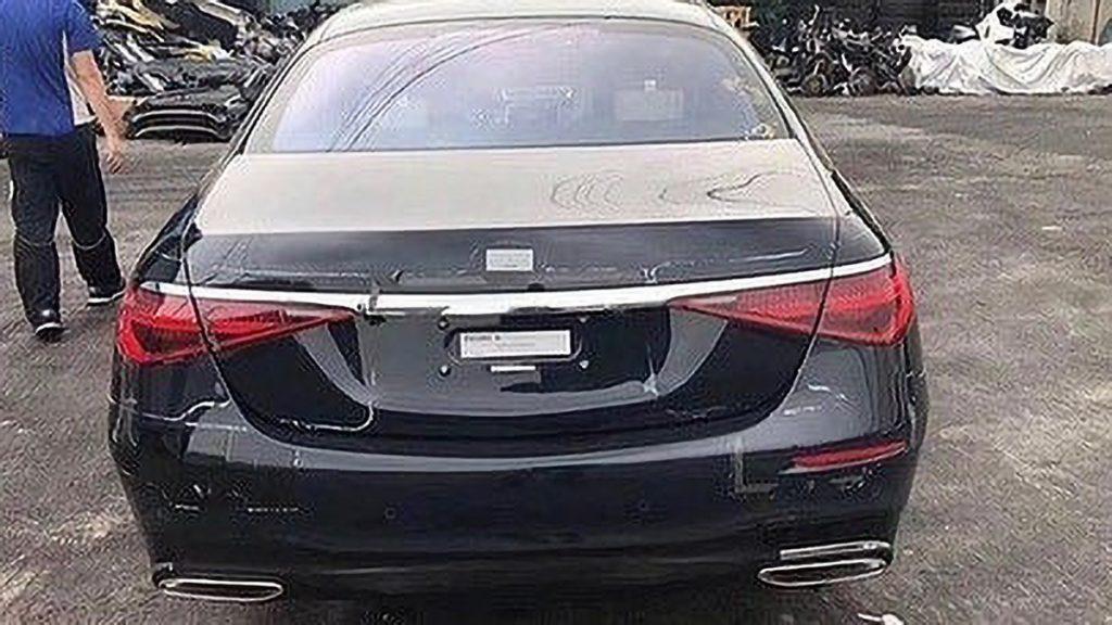 Новый Mercedes S-класса W223 удивит революционным интерьером с 3D-проектором