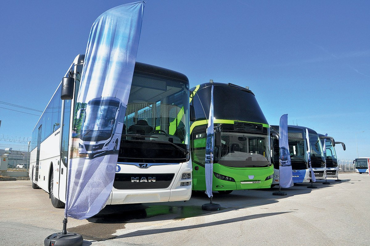 Как в Турции собирают немецкие автобусы MAN