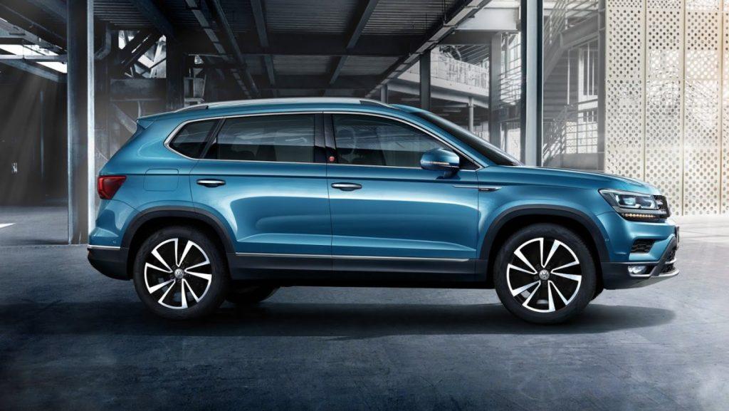 Volkswagen может показать локализованный кроссовер Tarek уже в этом году