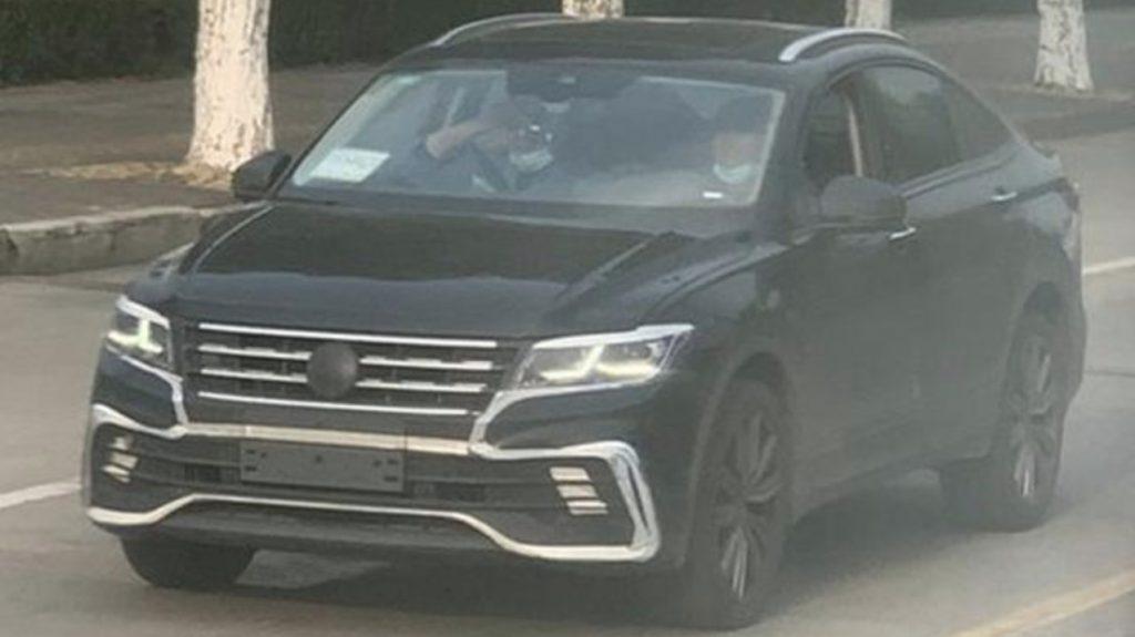 Популярный кроссовер Volkswagen Tiguan получит «купеобразную» модификацию