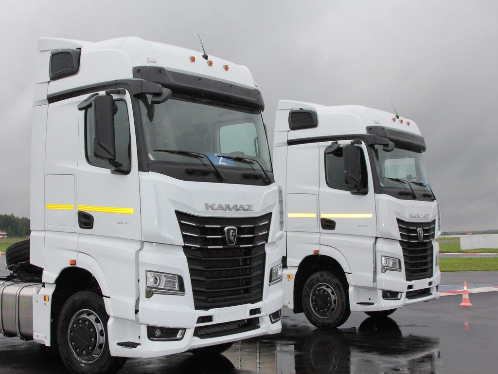 Стартовали продажи тягачей КАМАЗ нового поколения