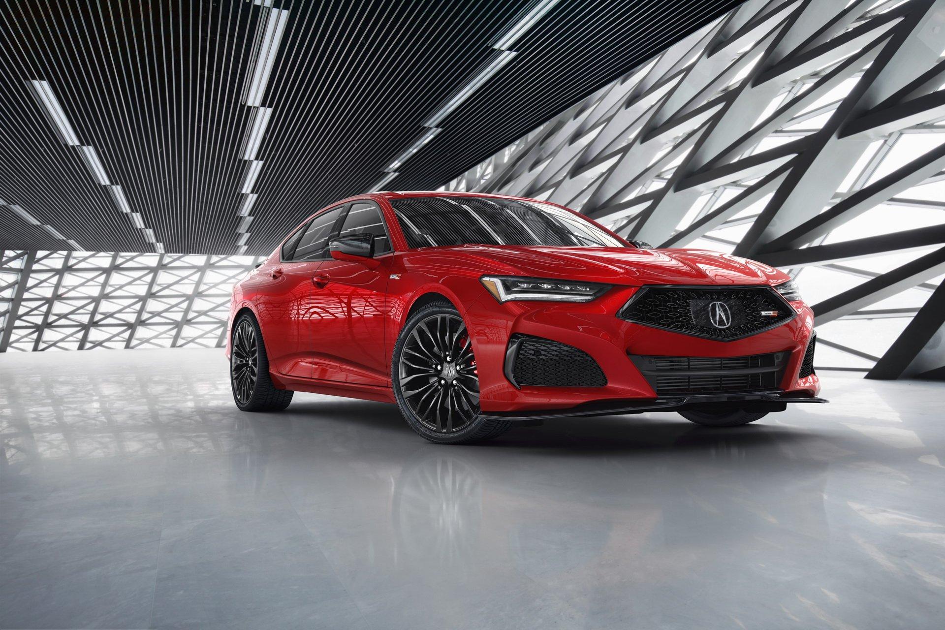 Новейший спортседан Acura TLX делает ставку на «непревзойденную» управляемость (видео)
