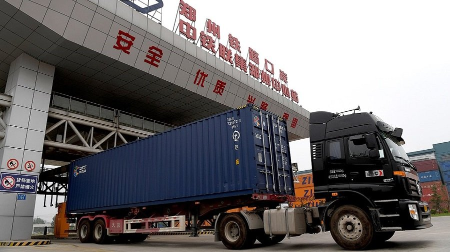 В Китае резко возрос объём грузоперевозок после пандемии