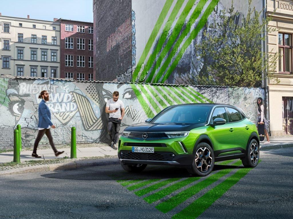 Новый кроссовер Opel Mokka: фантастический дизайн плюс электропривод