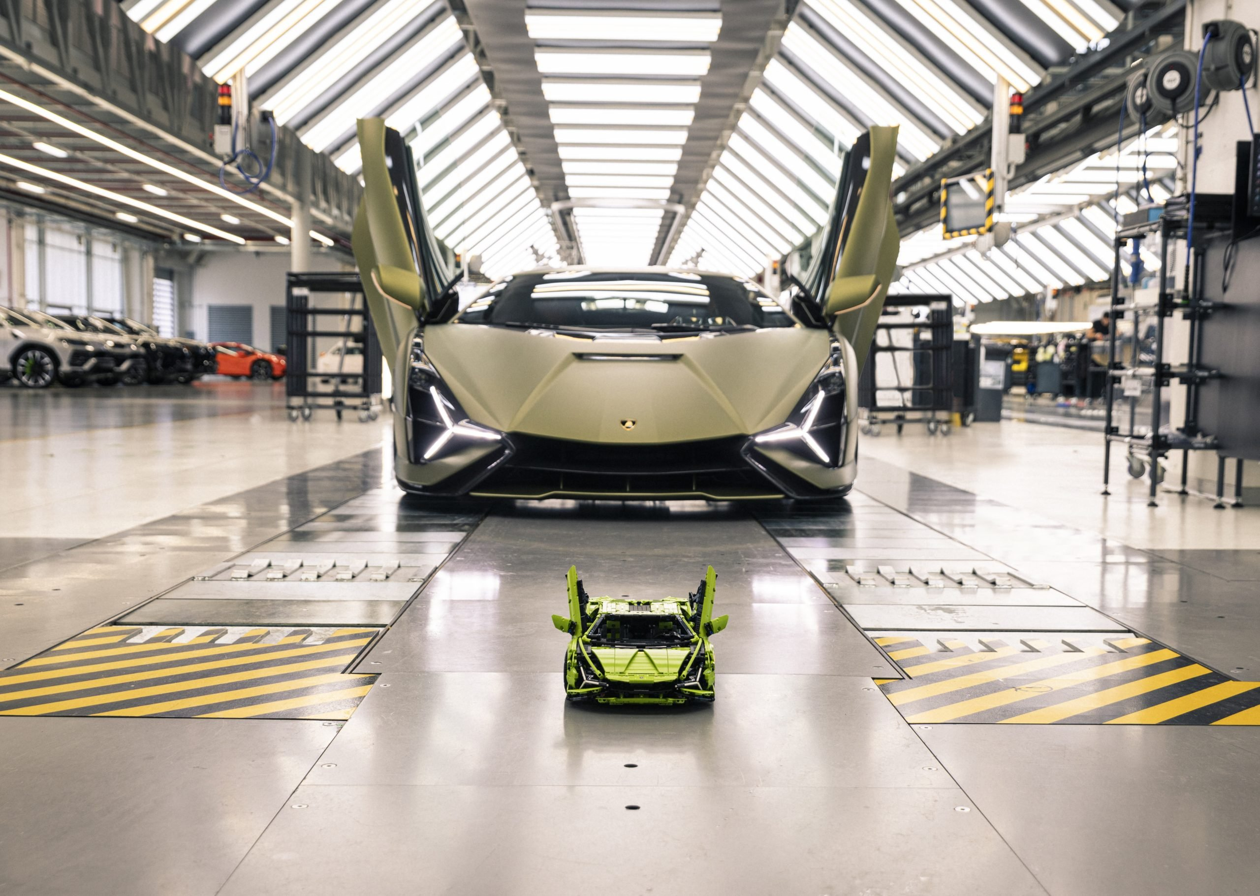Как выглядит самый быстрый Lamborghini, собранный из Lego