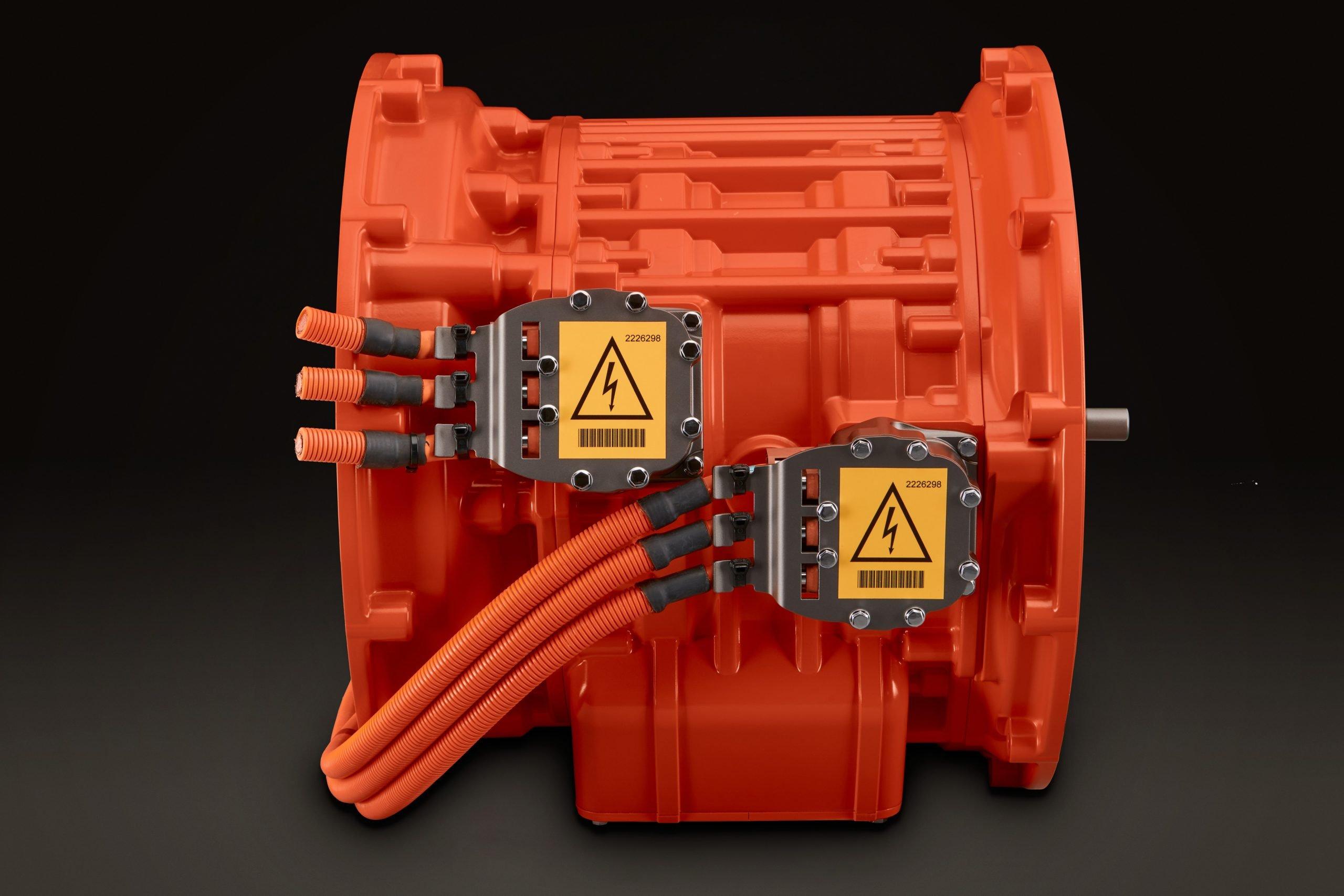 Без СО2: Scania представила концепцию электрифицированных силовых установок