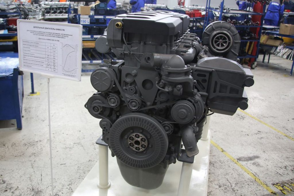 Ход Р6: «КАМАЗ» приступил к тестовому производству двигателей для перспективного семейства автомобилей