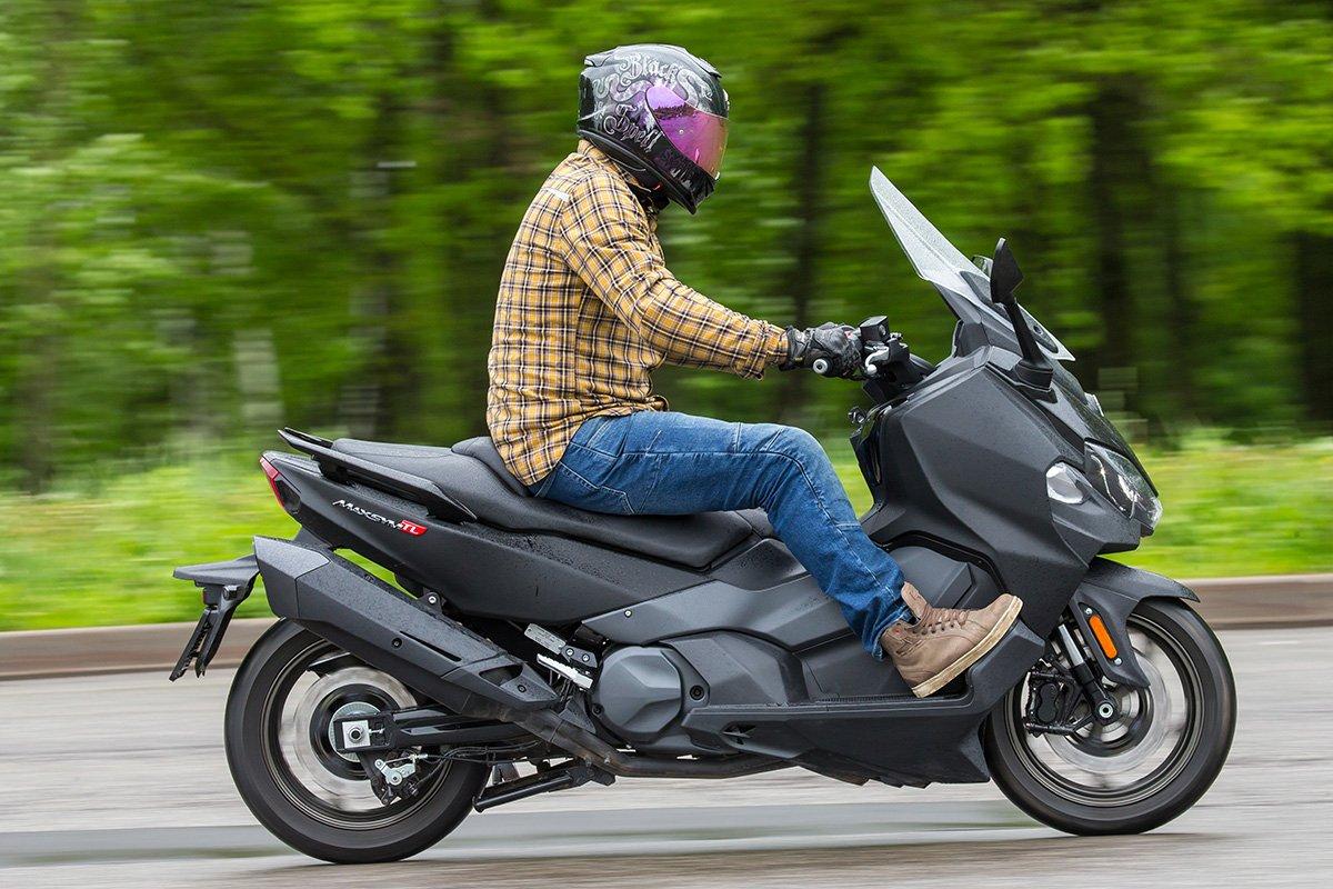 Тест самого крутого тайваньского скутера SYM Maxsym TL500