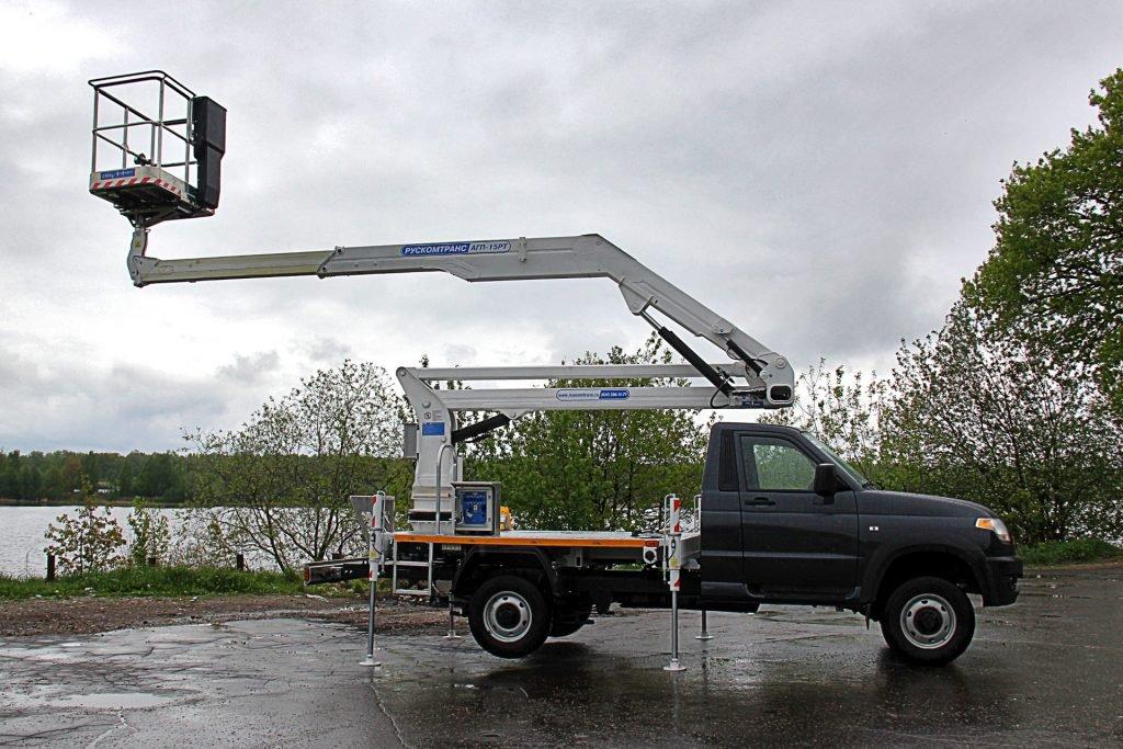 Автогидроподъемник АГП-15РТ на базе УАЗ «Профи»