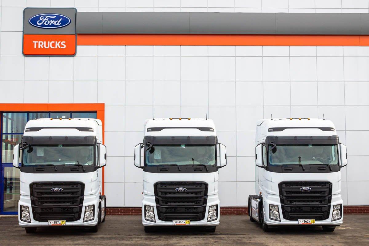 Продовольственная программа: крупный перевозчик продуктов питания приобрел грузовики Ford F-Max