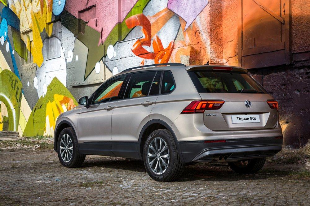 VW Tiguan получил новую спецверсию для России