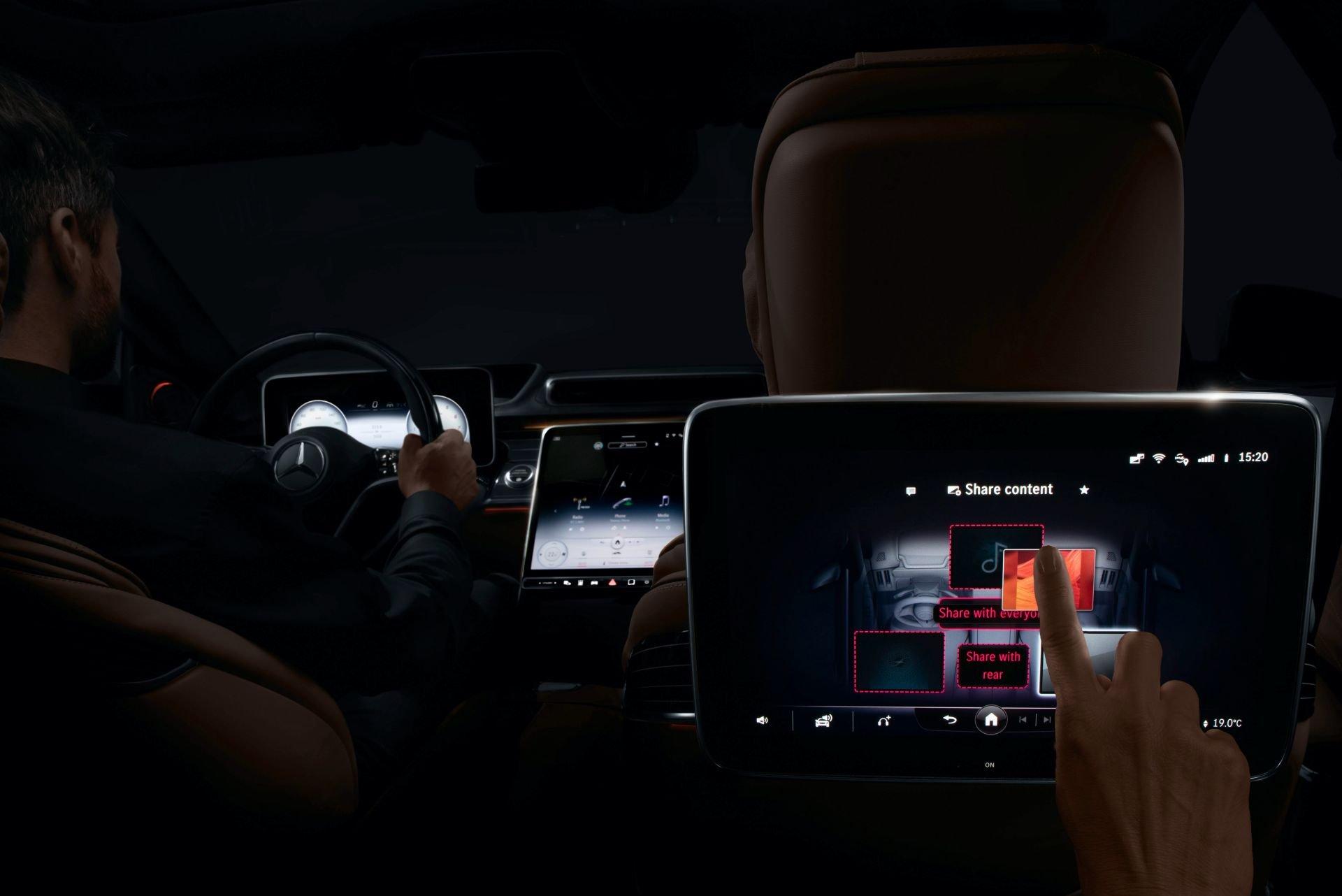 Новый Mercedes S-класса поразит революционной мультимедийной системой
