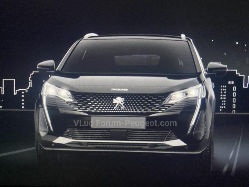 Обновленный кроссовер Peugeot 3008 приедет в Россию через год