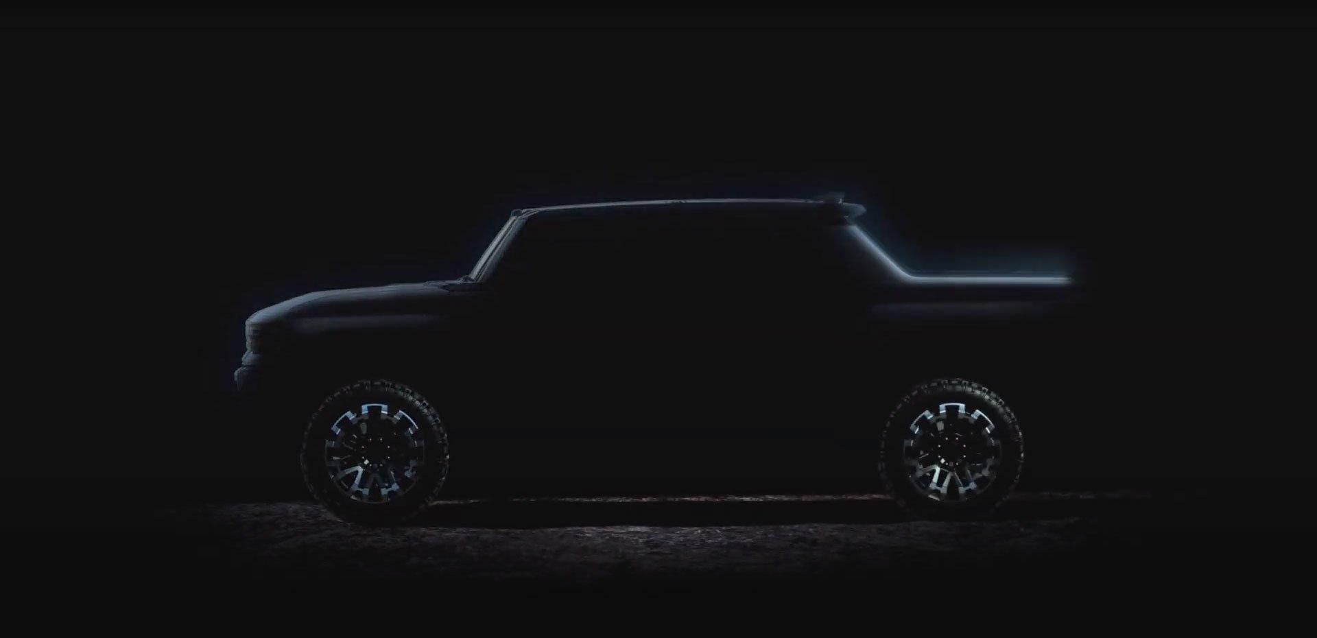 Hummer вернется осенью и взорвёт рынок электрических внедорожников (видео)
