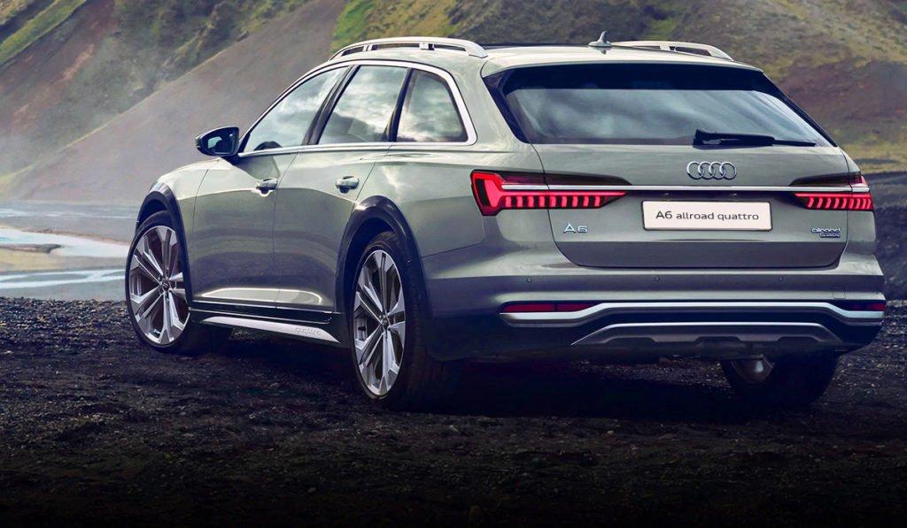 Новый Audi A6 Allroad приехал в Россию в «ностальгической» комплектации