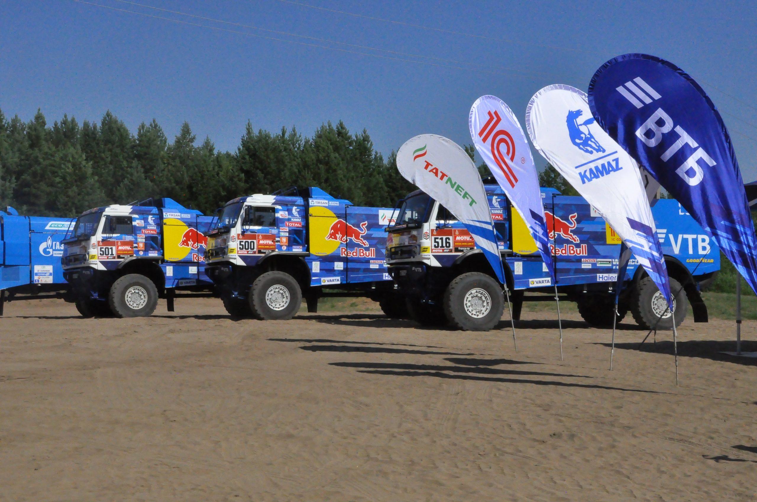 Cпортивная команда «КАМАЗ-мастер» вернулась к тренировкам