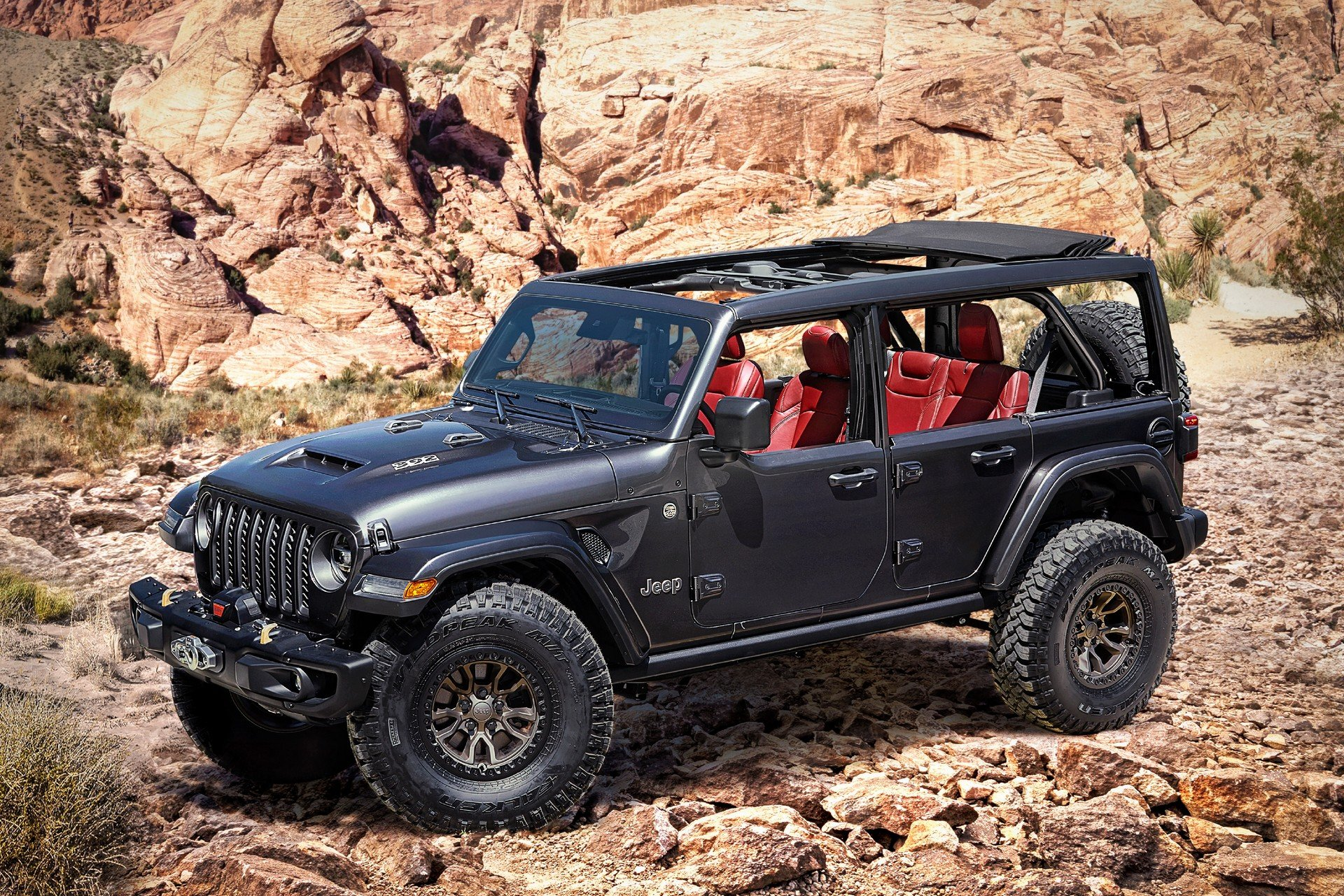 Jeep готовит экстремальную версию Wrangler с могучим мотором Hemi