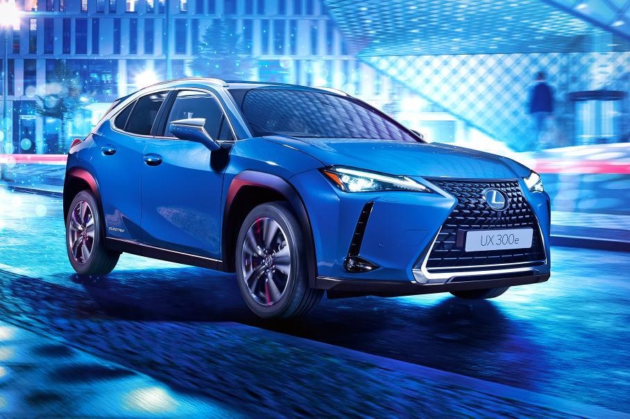 Lexus раскрыл подробности о своём первом электрокроссовере UX 300e