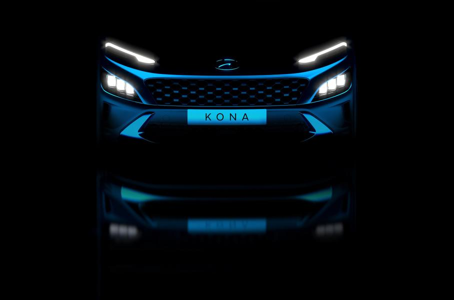 Опубликованы первые изображения нового кроссовера Hyundai Kona