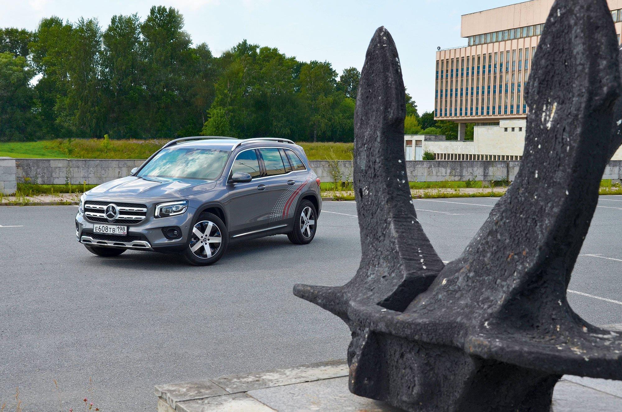 Тест самого доступного кроссовера «Мерседес»: чем Mercedes-Benz GLB порадовал кроме цены