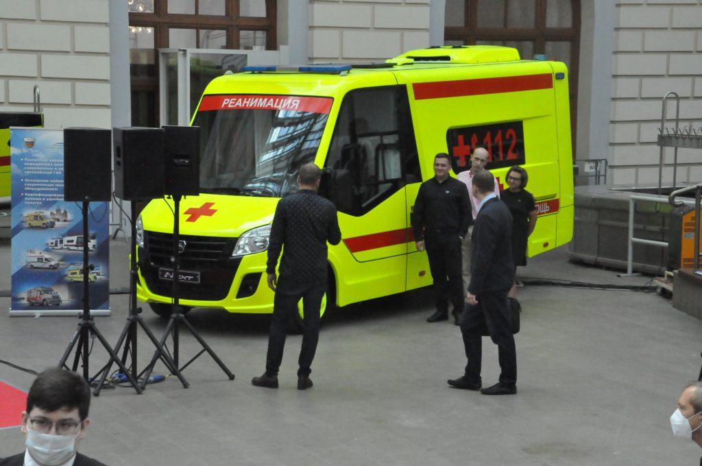 «Группа ГАЗ» представила в Москве новый модульный АСМП класса С
