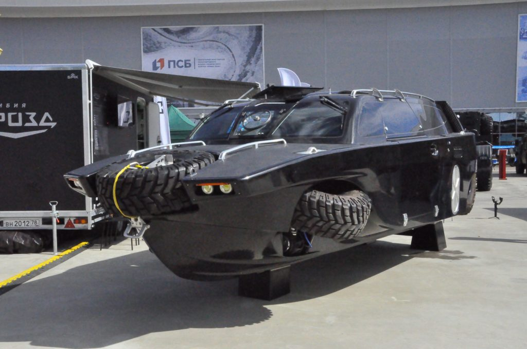 На выставке «Армия-2020» показали новинки  специальной автотехники