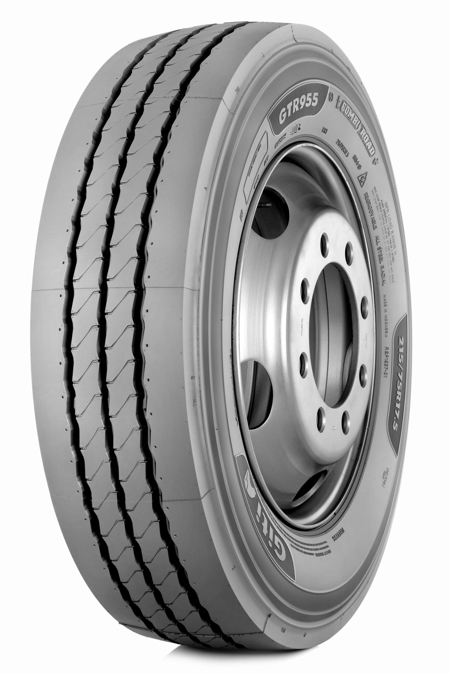 Giti Tire выпустит 17,5-дюймовую шину с технологией CombiRoad
