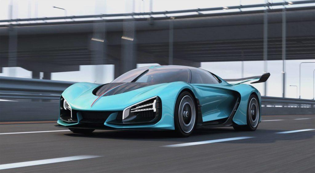 Китайцы готовы наладить выпуск 1400-сильных гиперкаров, способных обогнать Bugatti