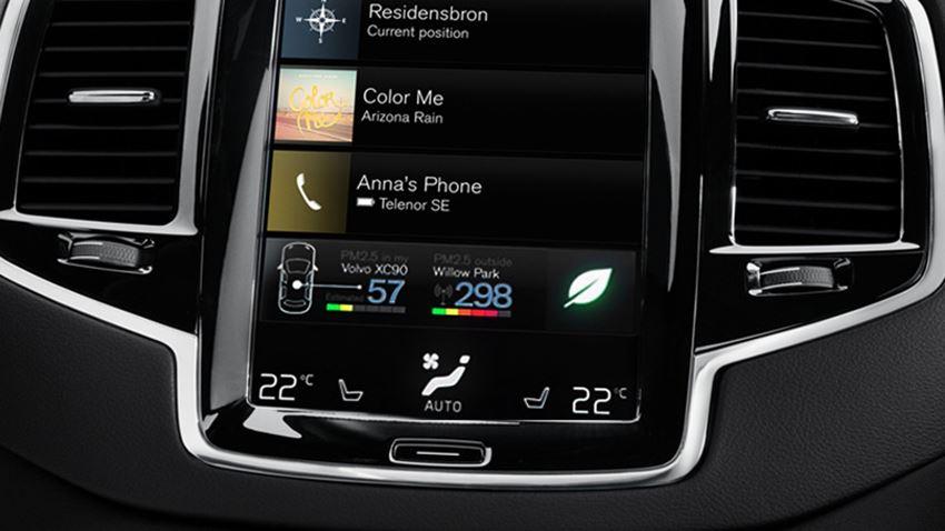 Автомобили Volvo получили уникальную систему очистки воздуха