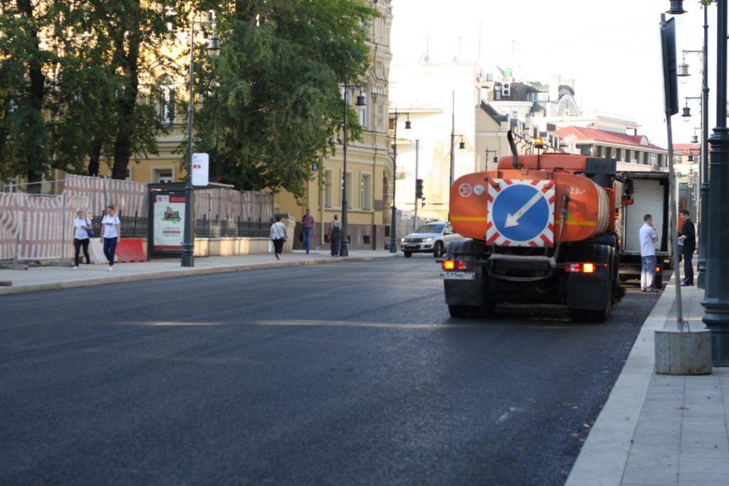 Мэрия Москвы обозначила сроки завершения  массового ремонта дорог