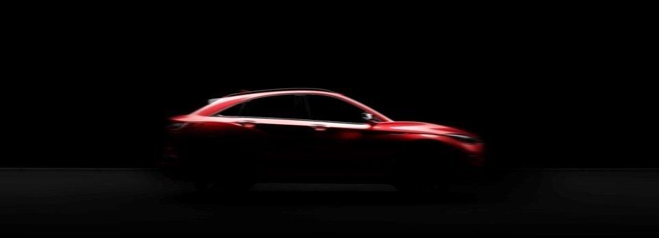 Infiniti готовит новый купеобразный кроссовер QX55