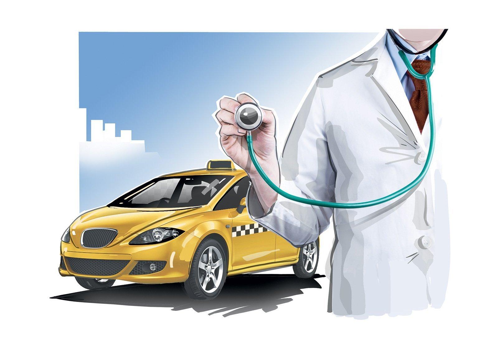 Таксистов проверят удалённо: как телемедицина поможет в борьбе с аварийностью