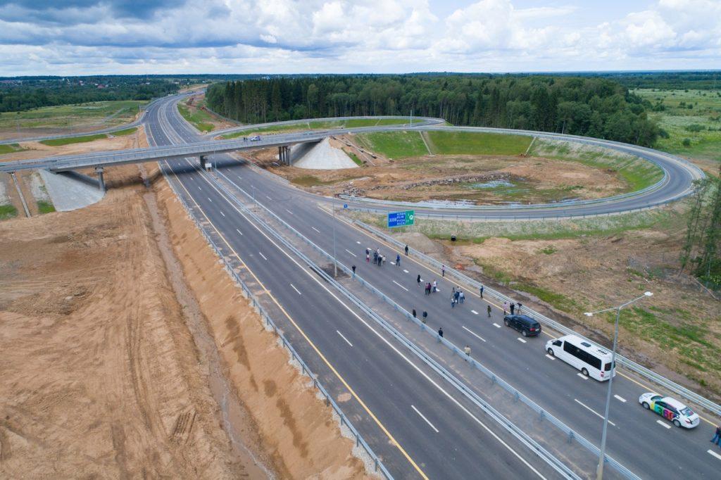 На строительство ЦКАД выделено ещё 20 млрд рублей