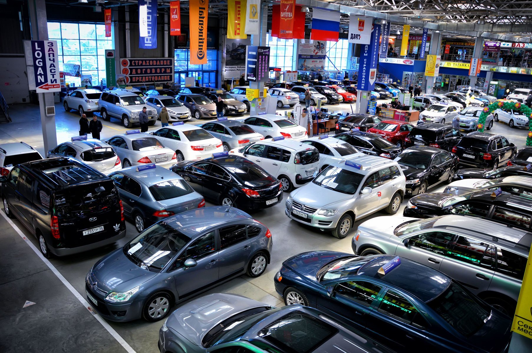 В России вырос спрос на некоторые категории подержанных машин