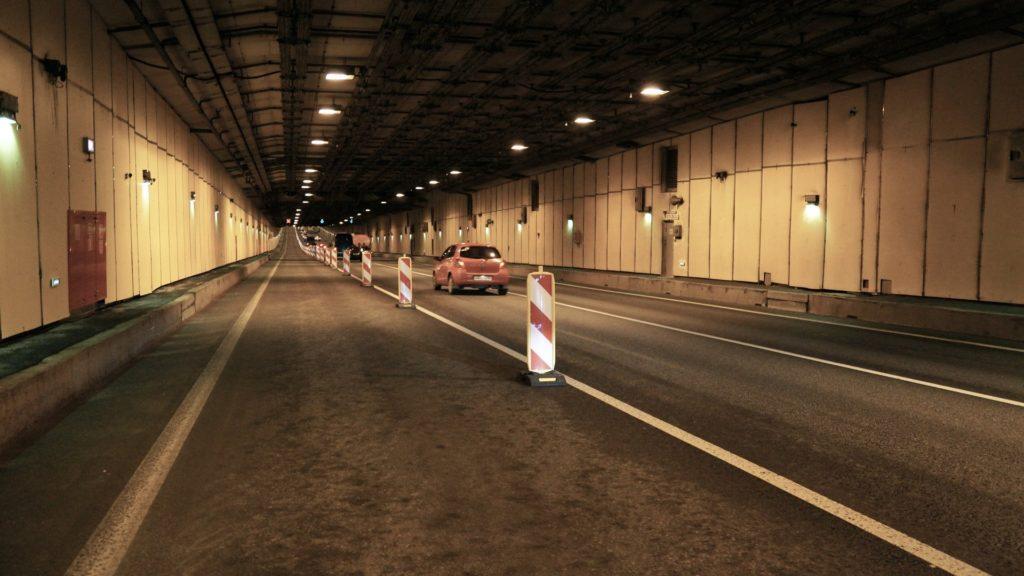 В столичных тоннелях разрешили перестроения