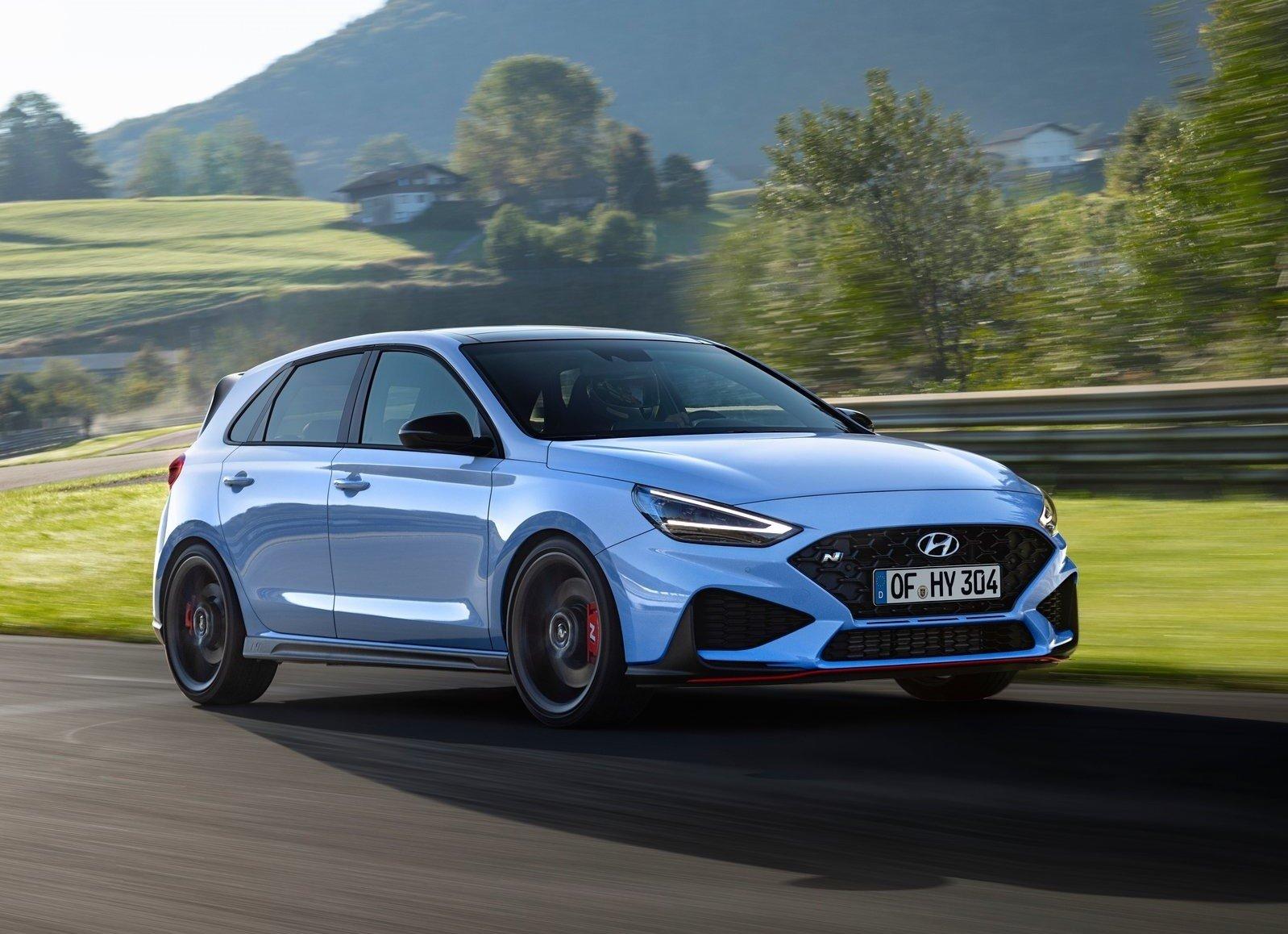 Обновлённый Hyundai i30 N стал мощнее и получил ещё одну трансмиссию