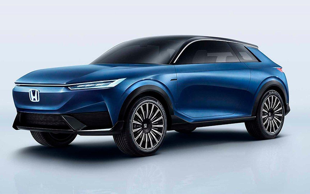 Honda показала абсолютно новый электрокроссовер