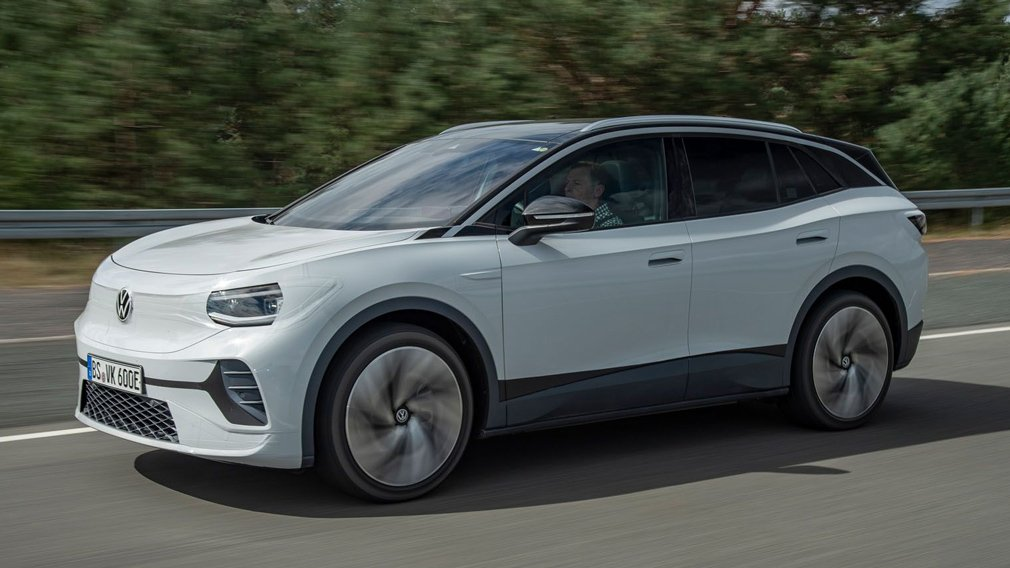 Электрокроссовер Volkswagen ID.4 был рассекречен под видом концепта