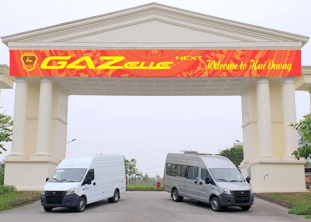 «Группа ГАЗ» отправила первую партию машин дилерам во Вьетнаме