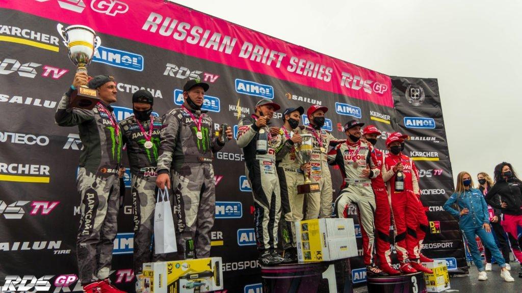Триумфальное возвращение RDS GP в Санкт-Петербург и сенсация на подиуме