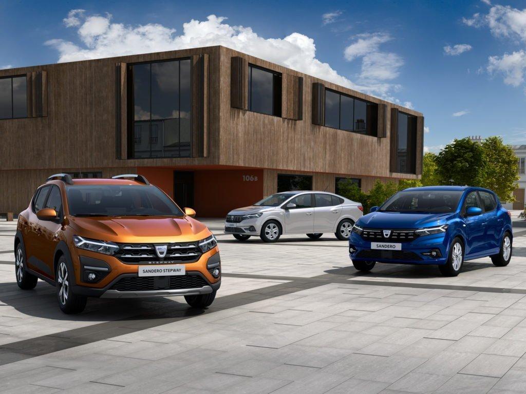 Раскрыта внешность нового поколения Renault Logan/Sandero
