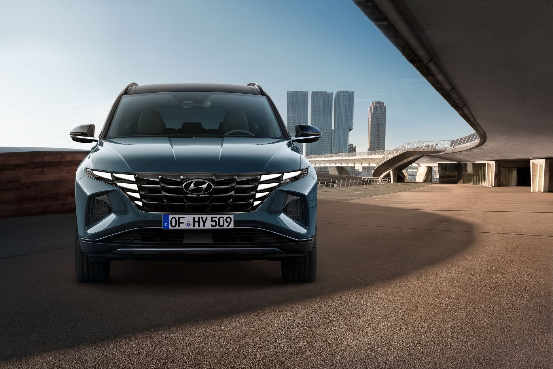 Новый кроссовер Hyundai Tucson делает ставку на радикальный дизайн