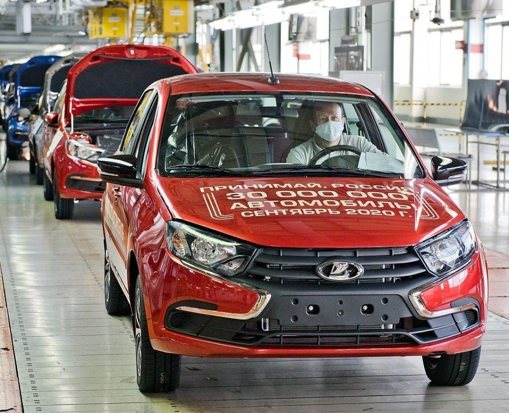 30 миллионов машин за 50 лет: АВТОВАЗ отметил новое достижение